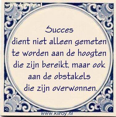tegel-succes-obstakels
